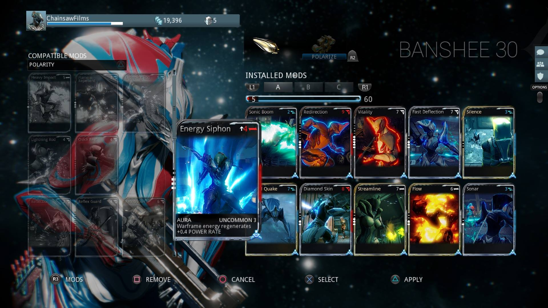warframe weapon slots